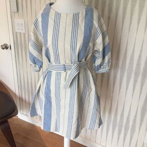 Prada linen mini dress size 44 It - (US size 8)